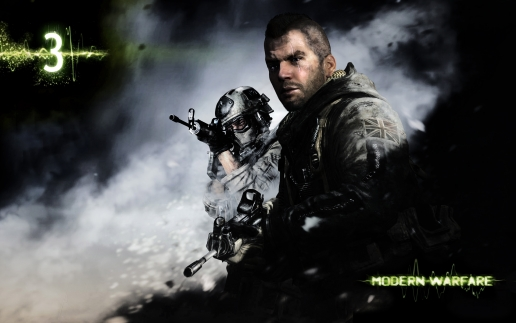 Soldier from Modern Warfare 3
