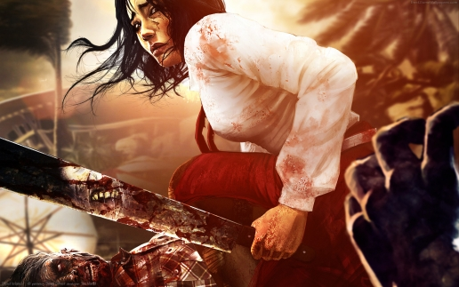 Girl with Machete from Dead Island HD