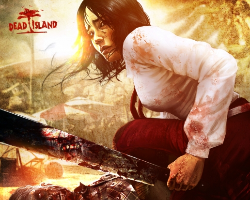 Girl with Machete from Dead Island