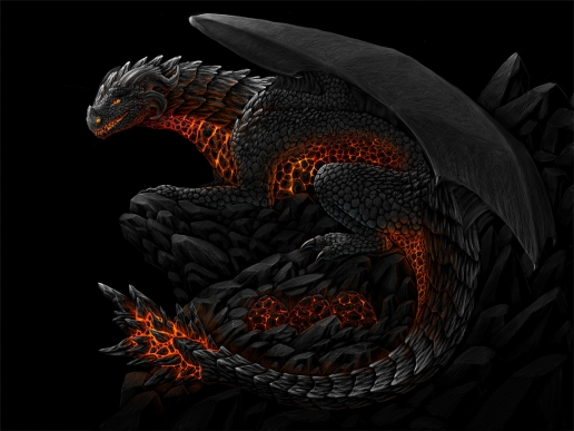 Beautiful Black Dragon HQ