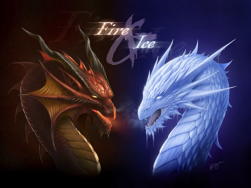Fantasy Wars Fire and Ice Dragons HQ