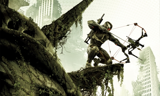 I Kill You Bitch Crysis 3 Hunter with Arbalet Looking for Enemies