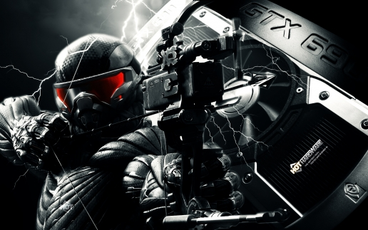 Crysis 3 Hunter with Arbalet Shoots in Enemies
