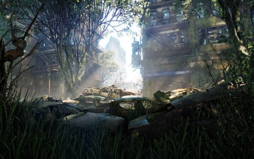 Dead City in Nanodome Crysis 3