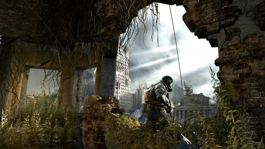 Metro Last Light Soldier in Dead City