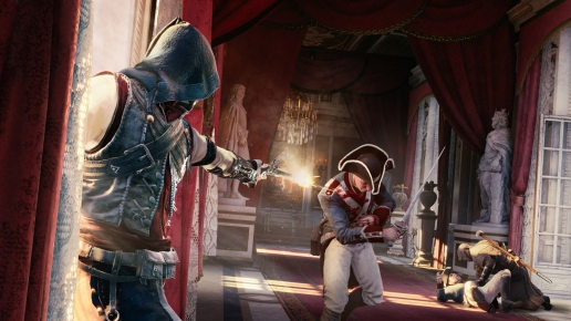 Attack and Fire Assassins Creed Unity