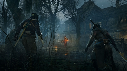 Attack on the Swamp Assassins Creed Unity