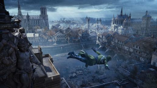 Free Fall Assassins Creed Unity