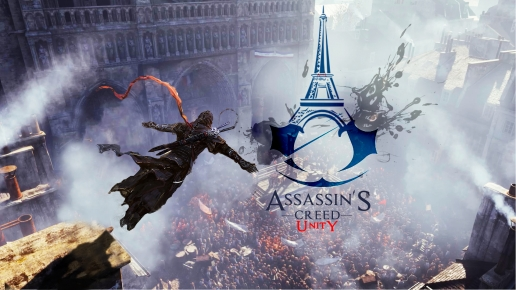 Flying Assasin Assassins Creed Unity