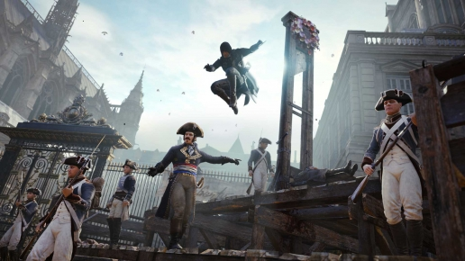 Execution Assasin Assassins Creed Unity