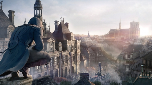 Warrior Looking for Execution Assassins Creed Unity